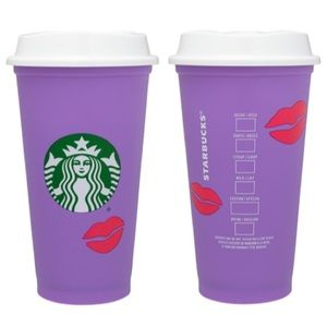 Starbucks Colour Changing Kiss Hot Cup